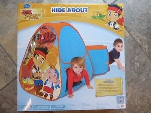 Jake & the Neverland Pirates hideabout tent