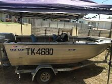 Seajay 4.2SP Side Console - 40HP Yamaha Townsville Surrounds Preview