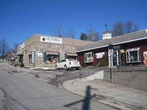 LOVELY RETAIL SPACE IN DOWNTOWN ST. JACOBS VILLAGE