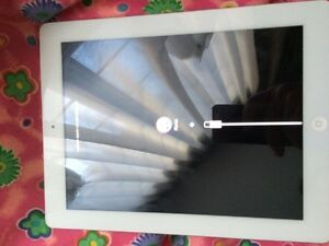 Apple iPad 4 White 16GB Wifi model for parts only