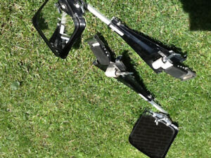 Selling: Two Strap on Adjustable R&L Towing Mirrors