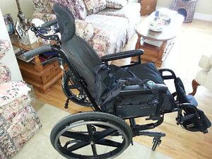 Sunrise Medical Quickie Tilt FX Manual Wheelchair