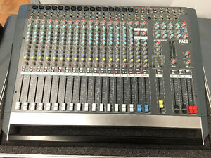 Allen & Heath PA20 - 20 Channel Live Sound Mixer w Road Case