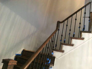Stair, Colour Changing, Staining, Sanding, Repairing Only Stairs