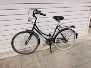 Used bicycle with the light 26""
