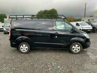 *FROM £318 P/M* BLACK FORD TRANSIT CUSTOM 2.2 270 LIMITED LR P/V 124 BHP DIESEL
