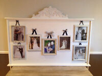 Wedding decoration picture board