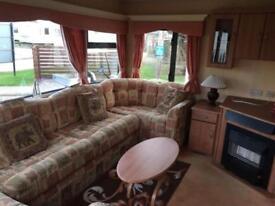 Static Caravan Clacton-on-Sea Essex 3 Bedrooms 8 Berth Cosalt Sandhurst 2002 St