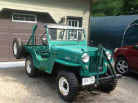 1953 Jeep CJ-3B Immatricule Antique