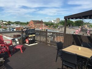 4 large bedroom + roof terrace spectacular view of dowtown