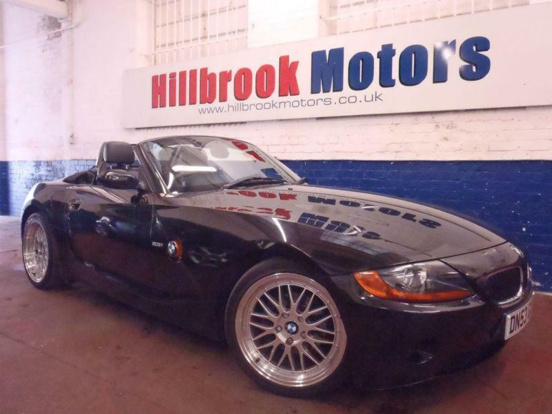 2003 bmw z4 2 5 se 2003my roadster full black leather heated seats 2 keys fsh in sheffield. Black Bedroom Furniture Sets. Home Design Ideas
