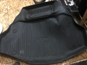 Weathertech Floor mats Front rear Acura TL - plus OEM Trunk Tray