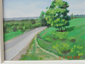 Original painting & Book  code 03 Reduced West Island Greater Montréal image 4