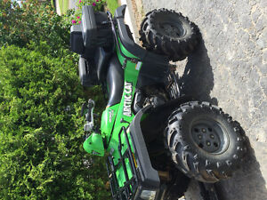 Arctic Cat 650 V-Twin - With Quick Release Plow
