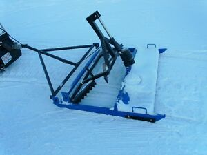 cross country ski grooming equipment manufacturing business