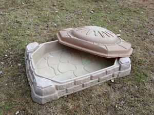 sandbox with cover