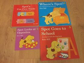 4 Books of Spot the Dog