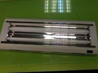 Hydroponic equipment grow light T5 light wave lighting 2ft foot x 2 bulb