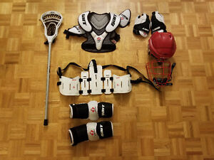 Men's lacrosse gear and stick (ALL FOR $200)