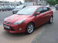 Ford Focus Manual Diesel TITANIUM NAVIGATOR TDCI Red 2014 600 DIESEL 2014/64