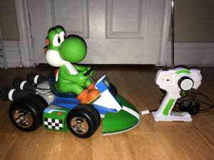 Like NEW remote control Yoshi race car!!!