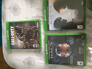 3 jeux Xbox One CoD & Halo