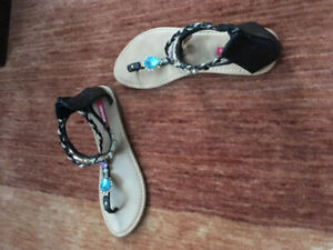 Union bay Jewelled sandals size 8