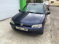 2001 Peugeot 106 1.5 diesel 3 door