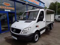 2010 MERCEDES SPRINTER 313 CDI 14FT REFRIDGERATED MILK FLOAT CHASSIS CAB DIESE