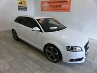 2012 Audi A3 2.0TDI (140ps) Sportback Black Edition **BUY FOR ONLY £62 PER WEEK*