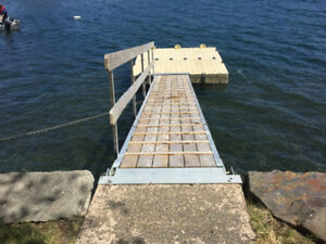 Used EZ Dock Floating Docks & Ramp