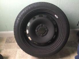 Spare Wheel - Ford Fiesta