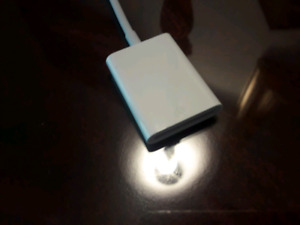 iPad SD card adaptor