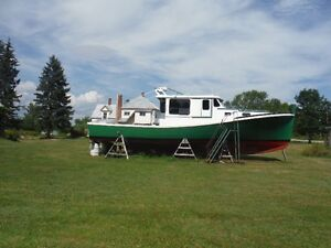 Reduced Reduced Converted Lobster/Pleasure Boat For Sale Trade