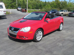 2008 Volkswagen Eos Hide-Away Roof