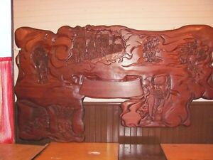 New Price Unique Wood Carving (History of Canada)