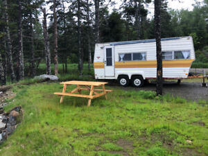Trailer on ocean lot  White Point  For Rent long weekend