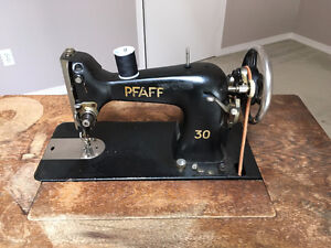 Vintage  Sewing Machine with a table
