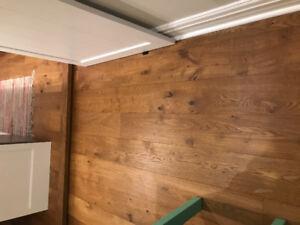 120 sq ft Oak Natural Engineered Wood Flooring