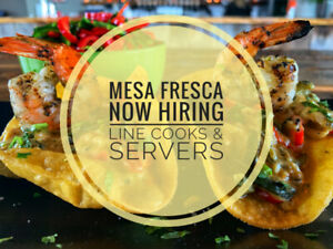 Mesa Fresa Now Hiring Line Cooks & Servers