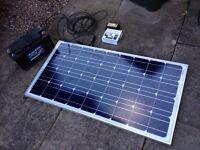 Camper vw t5 motor home solar kit