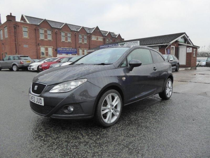 2010 seat ibiza 1 6 tdi cr sport sportcoupe 3dr in crewe. Black Bedroom Furniture Sets. Home Design Ideas