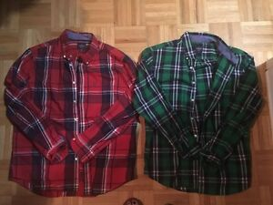 BRAND NAME LONG SLEEVE BUTTON UP SHIRTS