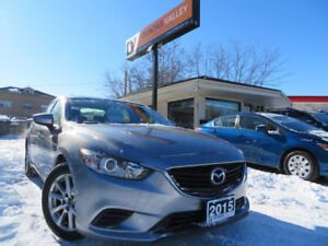 2015 Mazda 6 GX Sport LOW KM! | Warranty | Carfax | Bluetooth