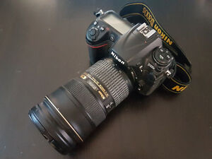 Nikon D300s DSLR Camera 12.3MP w/24-70mm Midrange Zoom Lens