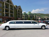 2000 Stretch Lincoln Town Car Sedan Limousine 10 Passenger Limo