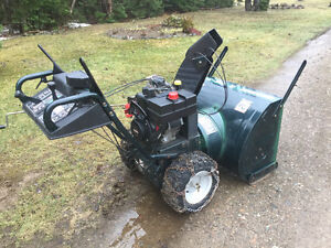 "Large snowblower 12hp/30""cut"