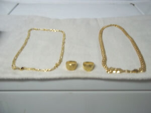 PLATED GOLD JEWELERY