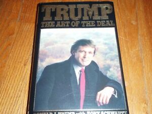 TRUMP The Art of The Deal first edition