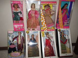 Collector Barbie dolls and others